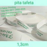 Cetak Sablon Pita Tafeta