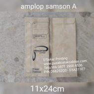 Cetak Sablon Amplop Samson A
