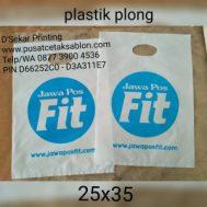 Cetak Sablon Plastik Plong