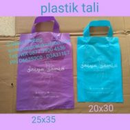 Cetak Sablon Plastik Tali