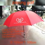 Cetak Sablon Payung Golf