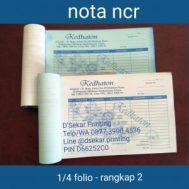 Cetak Nota NCR