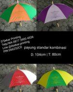 Payung Standar Kombinasi