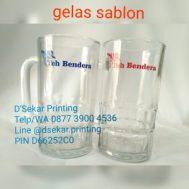 Gelas Sablon