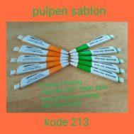 Pulpen Sablon