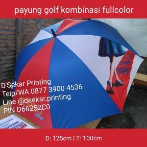Payung Golf Kombinasi Fullcolour