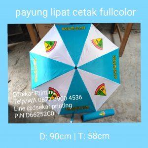 Payung Lipat Cetak Fullcolour