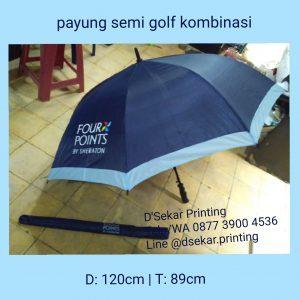 Payung Semigolf Kombinasi