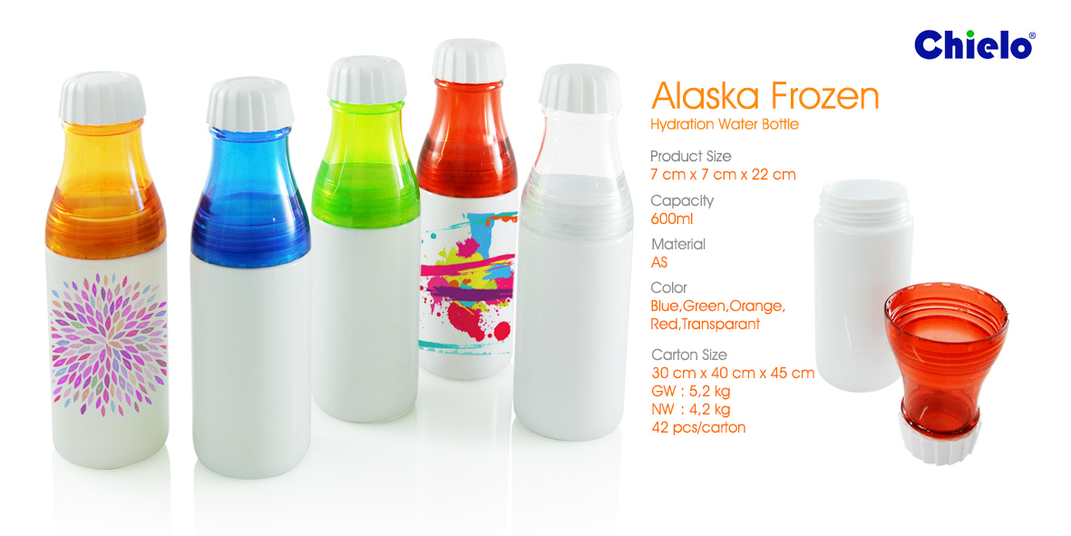 Botol Minum Tumbler Alaska Frozen