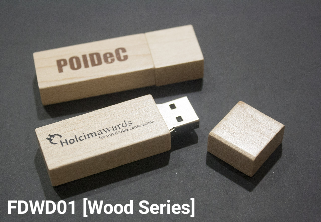 Flashdisk Wood Series