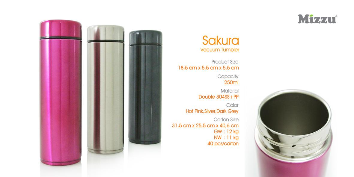 Botol Minum Tumbler Sakura