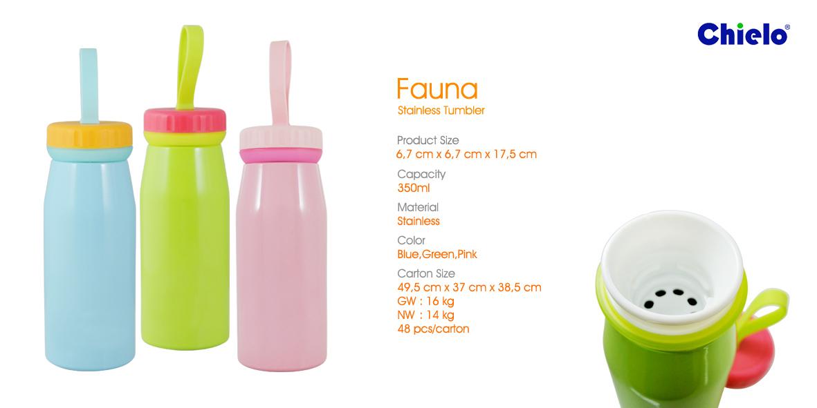 Botol Minum Tumbler Fauna