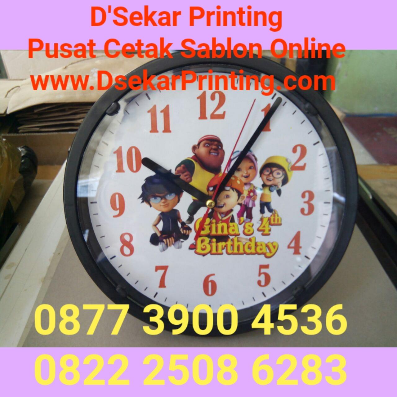 Jam Dinding Diameter 19 cm