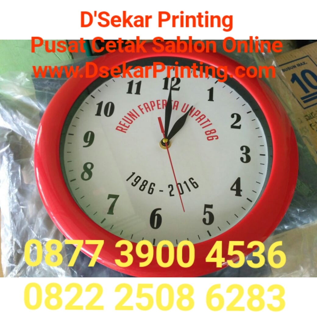 Jam Dinding Diameter 30 cm