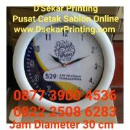 Jam Dinding Souvenir