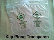 Klip Plong Transparan