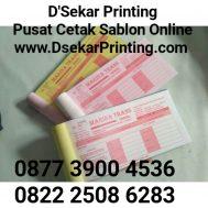 Cetak Nota Invoice