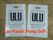 Tas Plastik Plong Doff
