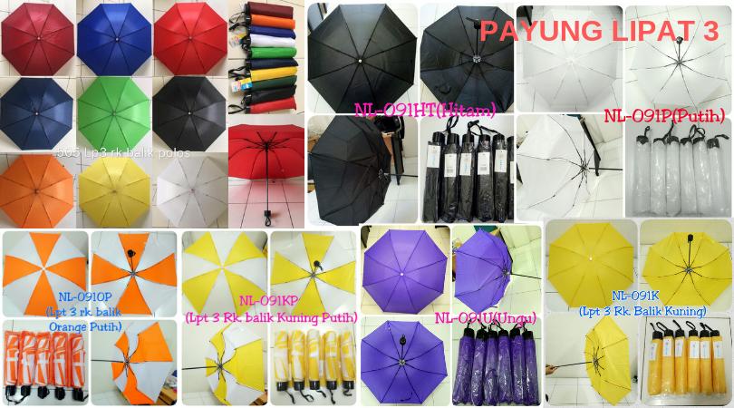 payung lipat 3 murah