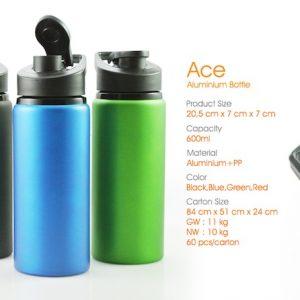 botol tumbler ace aluminium