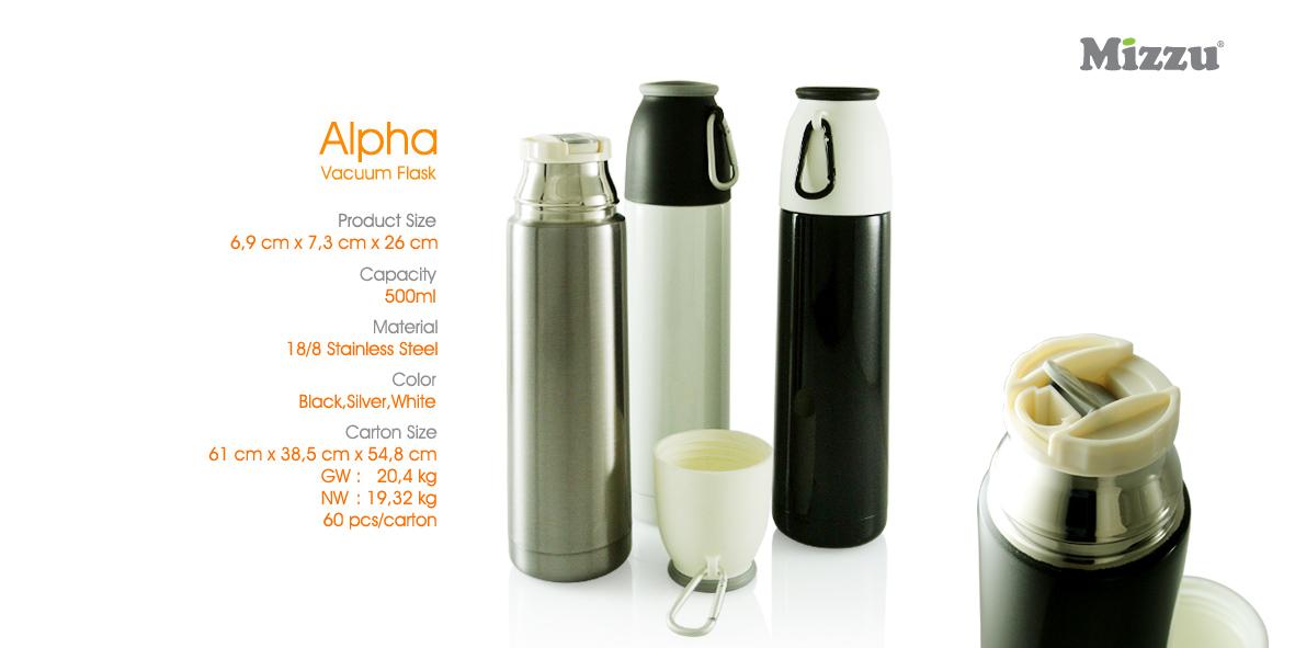 Botol Minum Tumbler Alpha Vacuum Flask