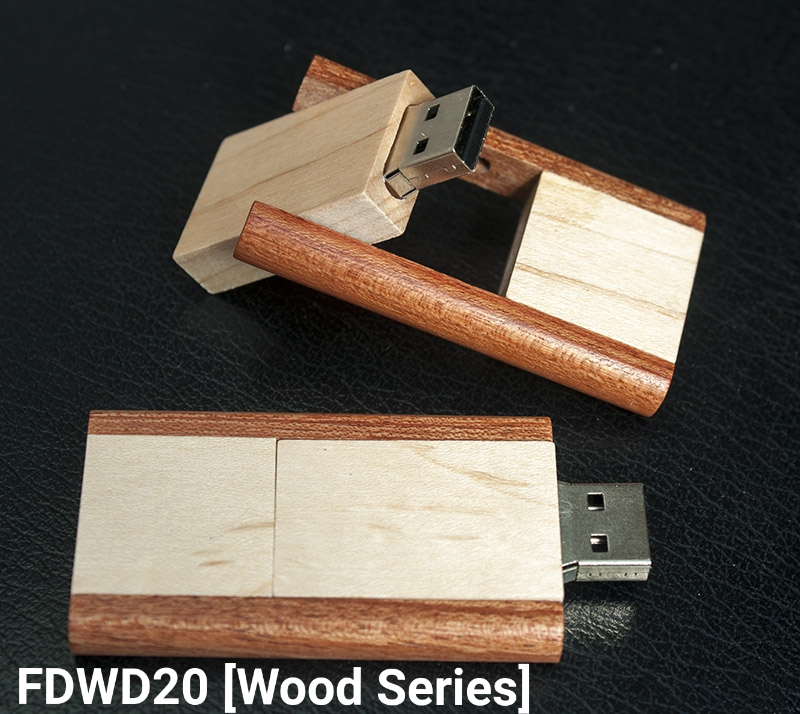 Flashdisk Wood Series