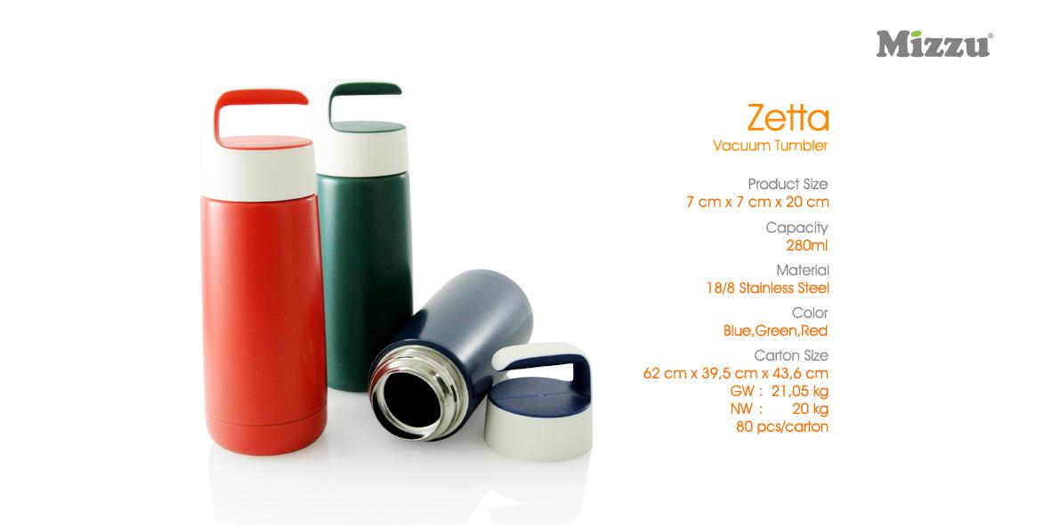 Botol Minum Tumbler Zetta Vacuum Flask