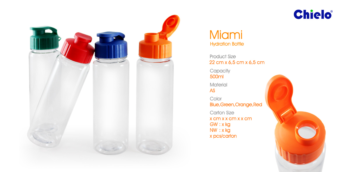Botol Minum Tumbler Miami