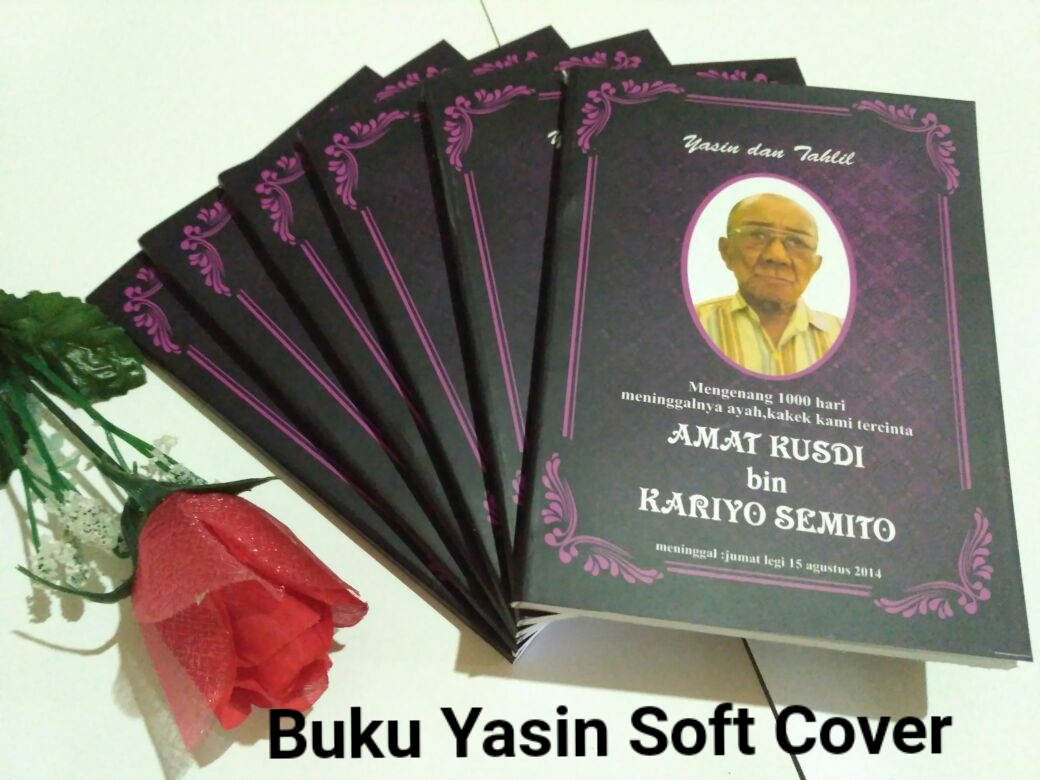 Buku Yasin soft cover