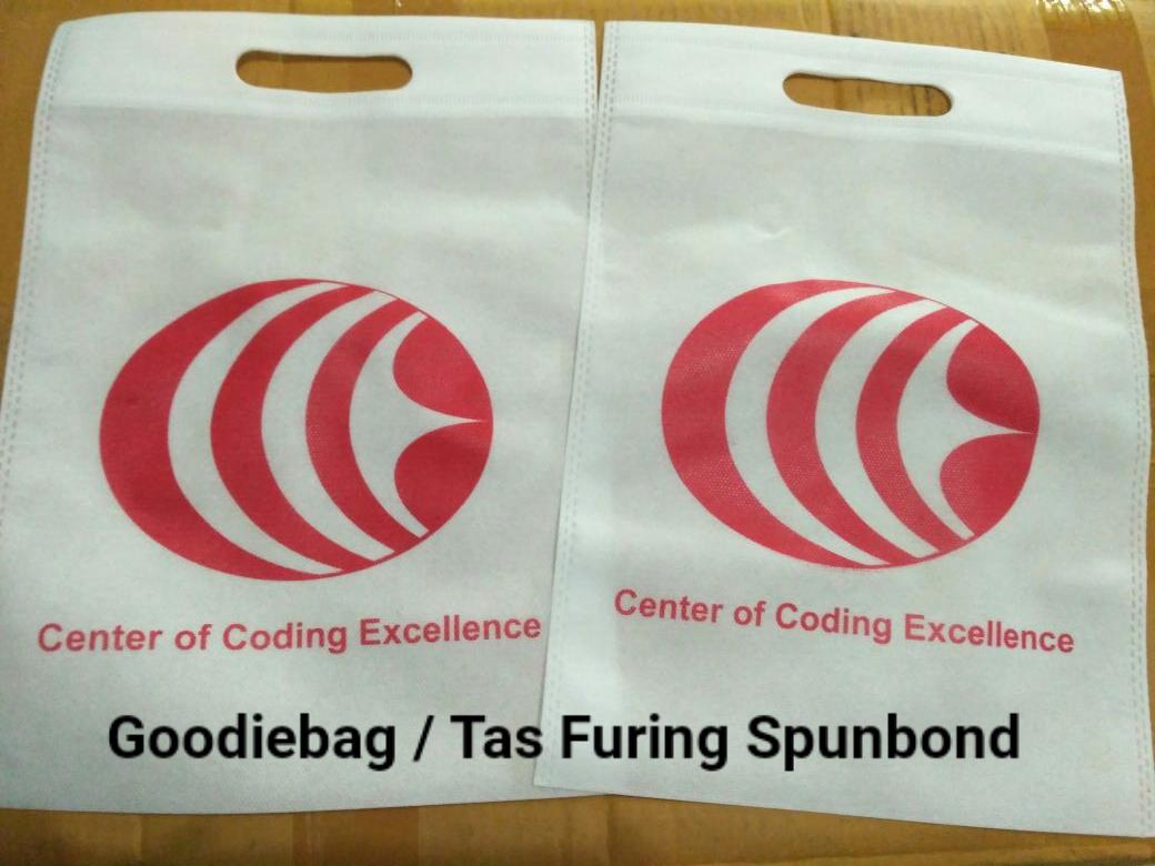 Goodiebag/ Tas furing spunbond