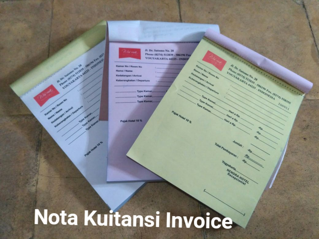 Nota Invoice Kuitansi