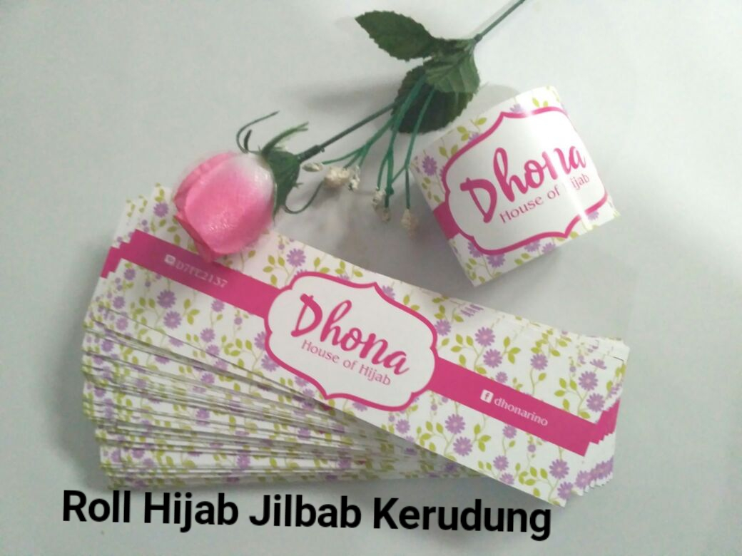 Roll jilbab Hijab Kerudung