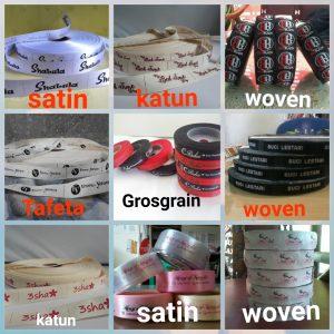 label baju pakaian