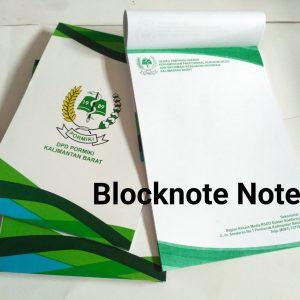 cetak blocknote