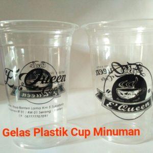 gelas plastik cup