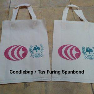 goodybag tas furing spunbond