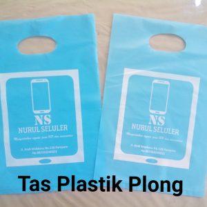 Kantong Plastik Plong Biru