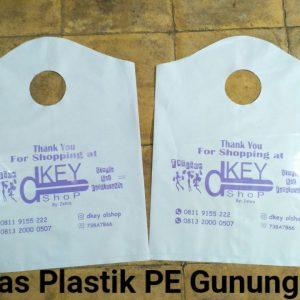 Plastik PE gunung putih