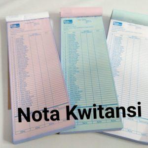 cetak Nota Kwintasi