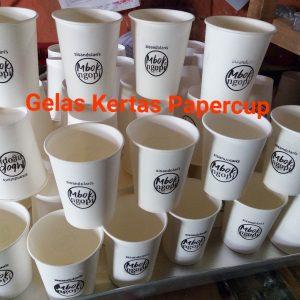 Papercup sablon