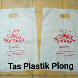 Tas Plastik Plong Putih