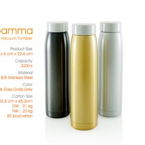 botol gamma vacuum tumbler