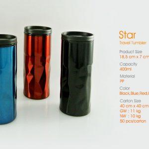 star travel tumbler botol minum